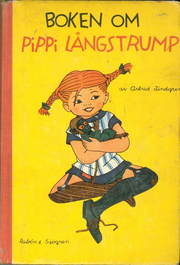 Boken om Pippi Långstump - di Astrid Lingren - illustrazioni di Ingrid Vang Nyman - 1969