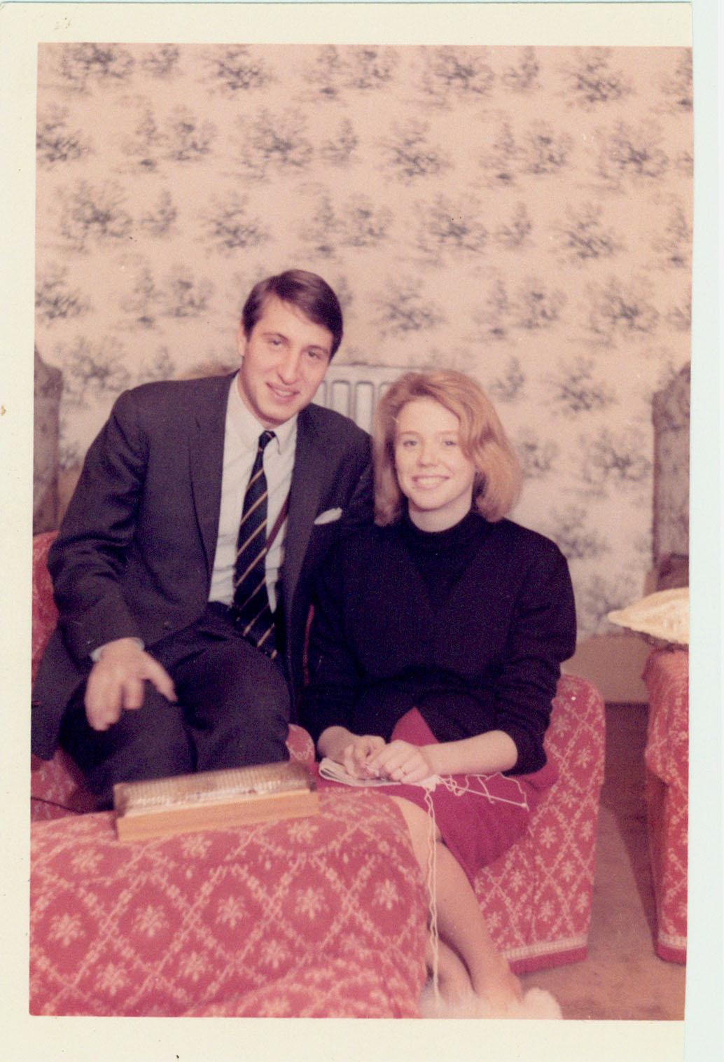 Enzo e Carola 1965 (e Laudie) - Londra 1965 - © Laudie Nocera