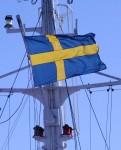 Svenska flaggan på Stena line
