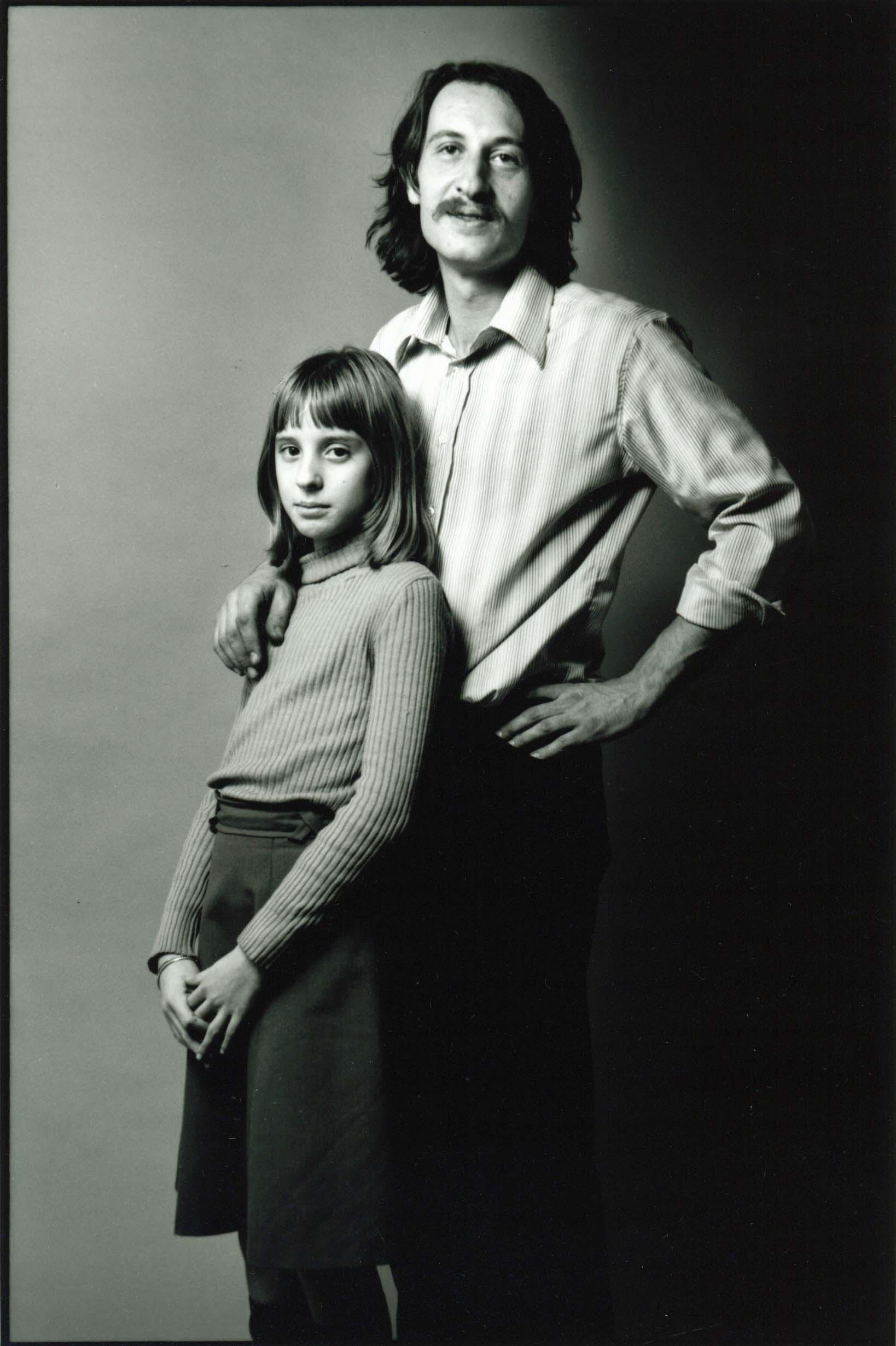 Enzo e Laudie - Foto Enzo Nocera - Milano 1975 - © Laudie Nocera