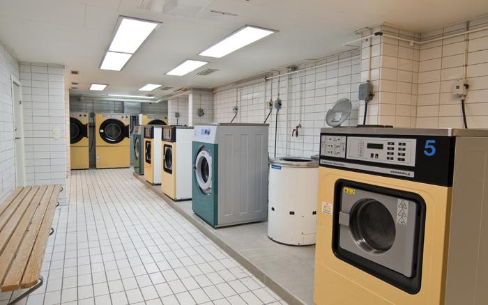 Tvättstuga studentbostäder