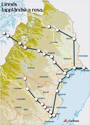 Linnés lappländska resa