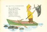 """Dal libro """"Min skattkammare"""" -"""" Ro ro till fiskeskär"""""""