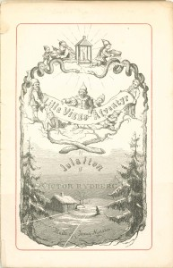 "Illustrazione di Jenny Nyström da ""Lille Viggs äfventyr på Julafton"" - 1878"