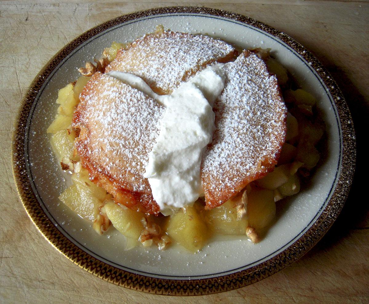 Äppeltårta med mandelmassa