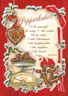 Ingrid Elf - Pepparkakor
