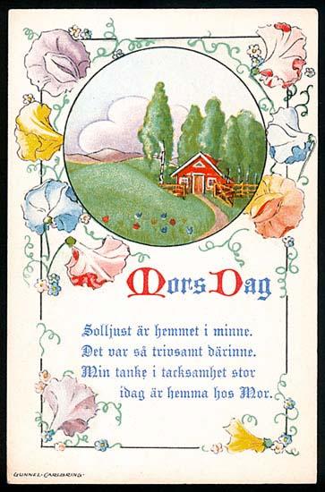 Gunnel Carlbring - Mors dag