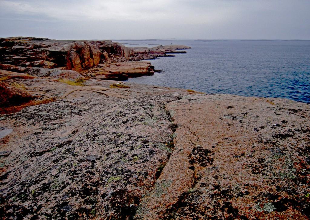 Smögen - Le roccie sul mare aperto