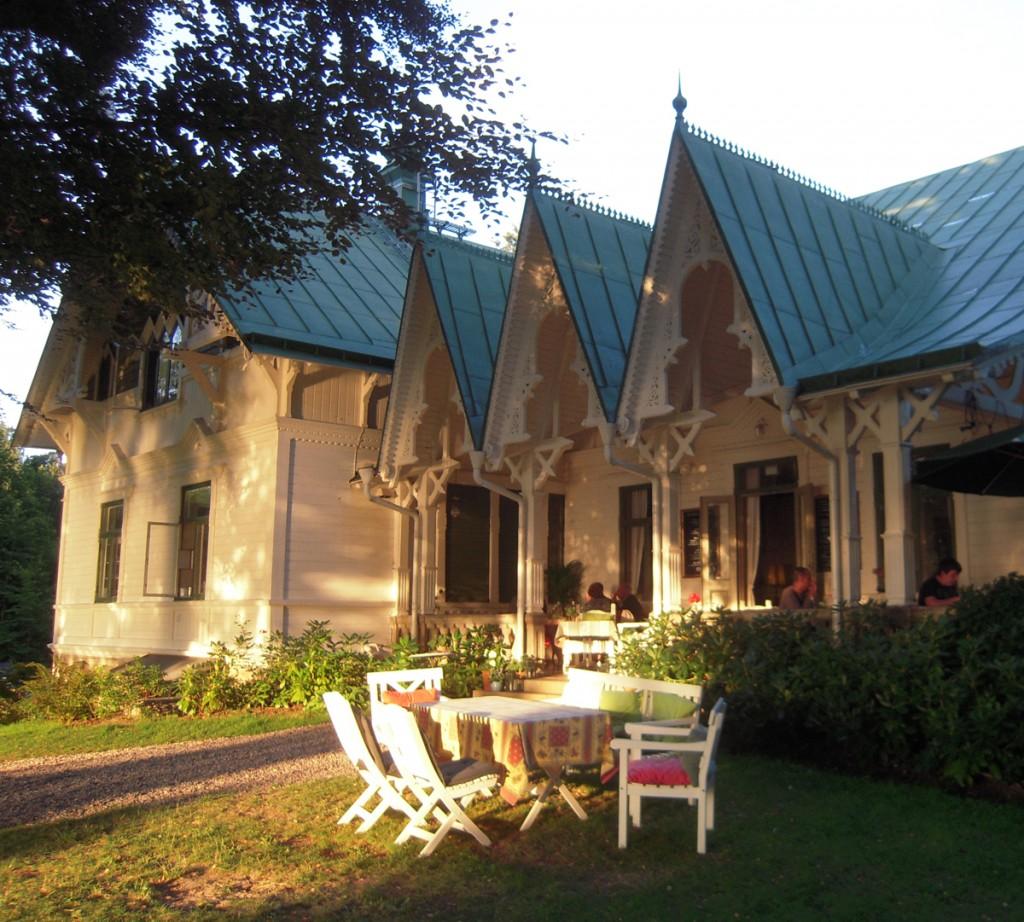 Villa Sjötorp - La veranda al tramonto