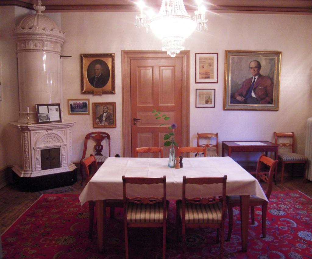 Villa Sjötrop - Interno ristorante