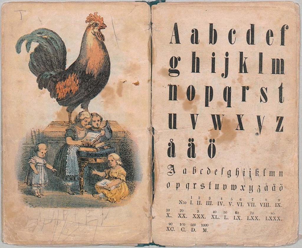 Det flitiga barnets första bilder - Printed 1866 - Umeå Library Digital Collection