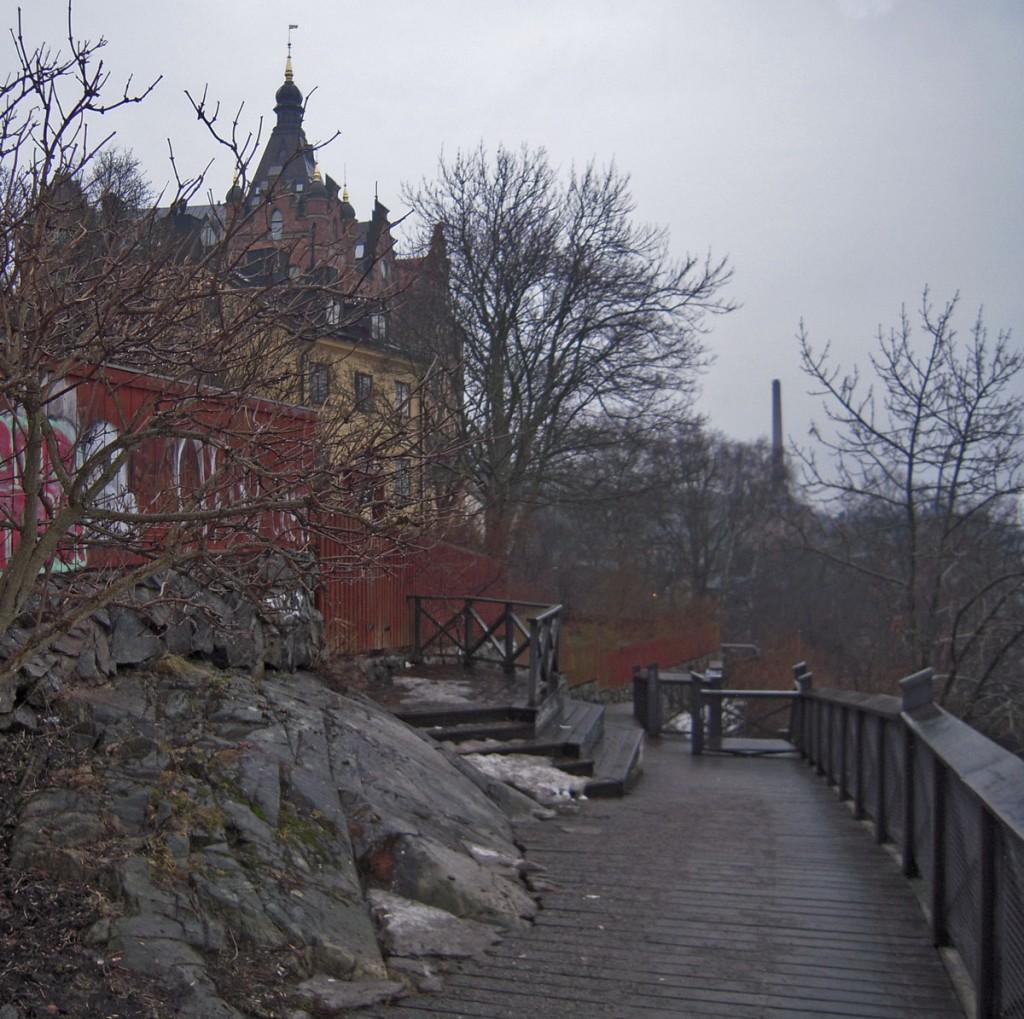 Monteliusvägen - Torn