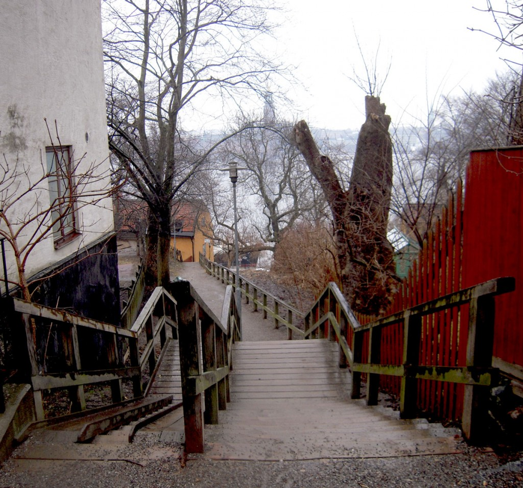 Monteliusvägen - trappstegen