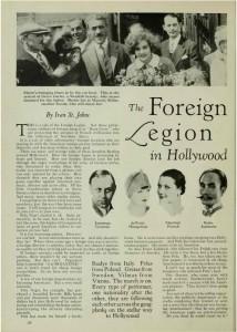 Arrivo di Greta Garbo  e Mauritz Stiller negli USA