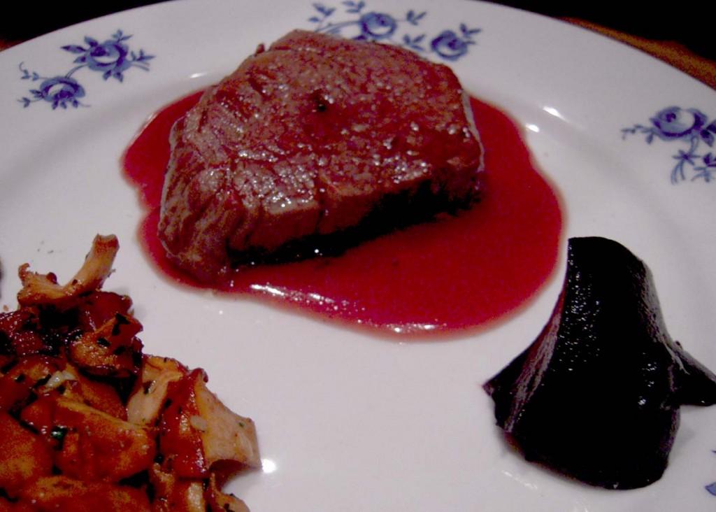 Flädergelé med kött