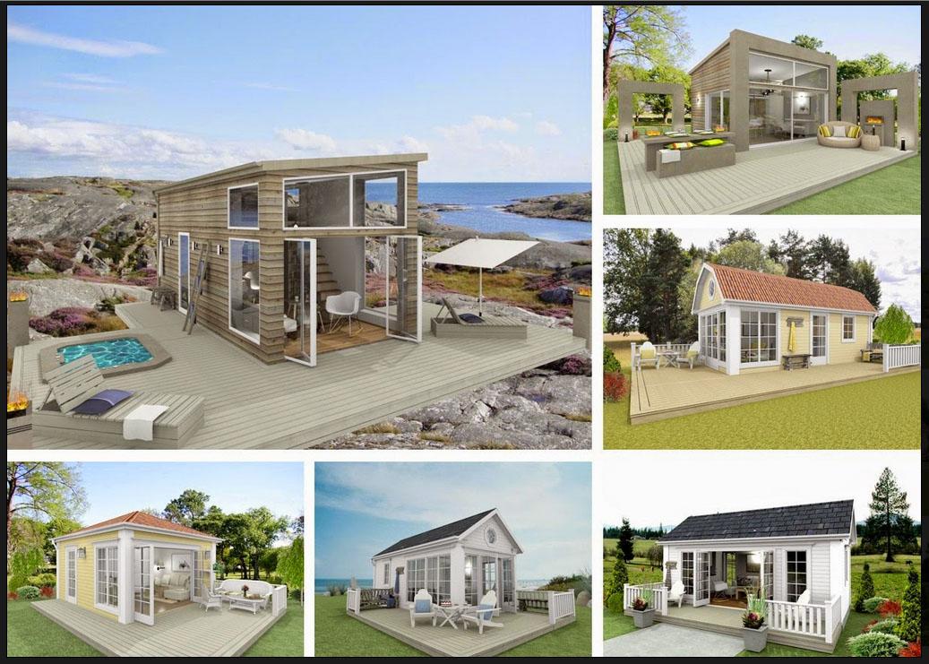 Attefallshus una dependance di 25 mq da costruire in for Esempi di progetti di case moderne