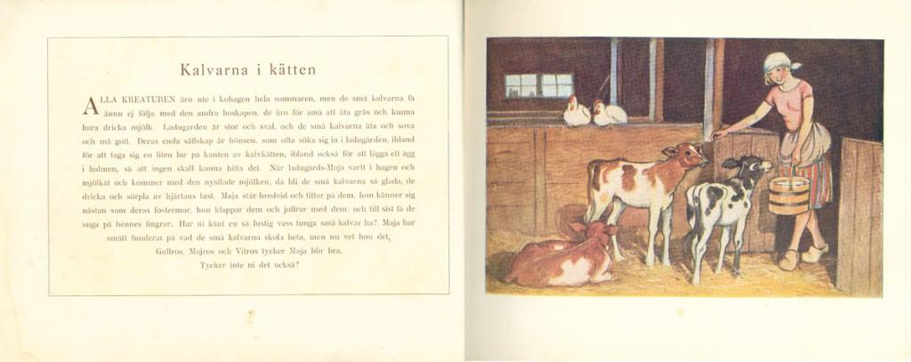 Maj Lindman - Våra husdjur - Kalvarna