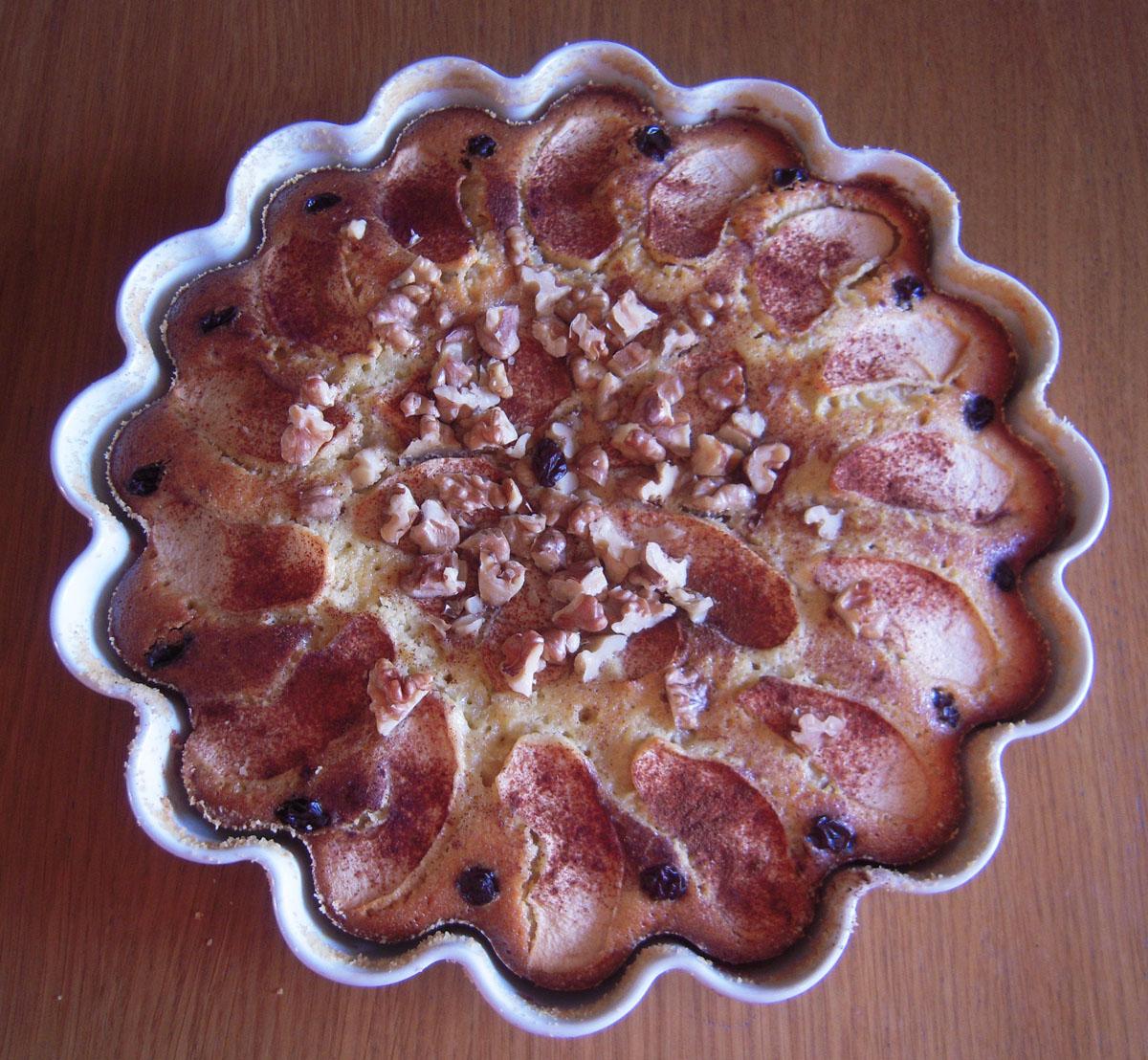 Äppelkaka - pronta