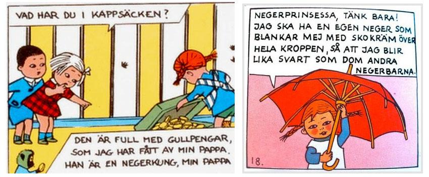 Astrid Lindgren - Boken om Pippi Långstrump - Negerkung