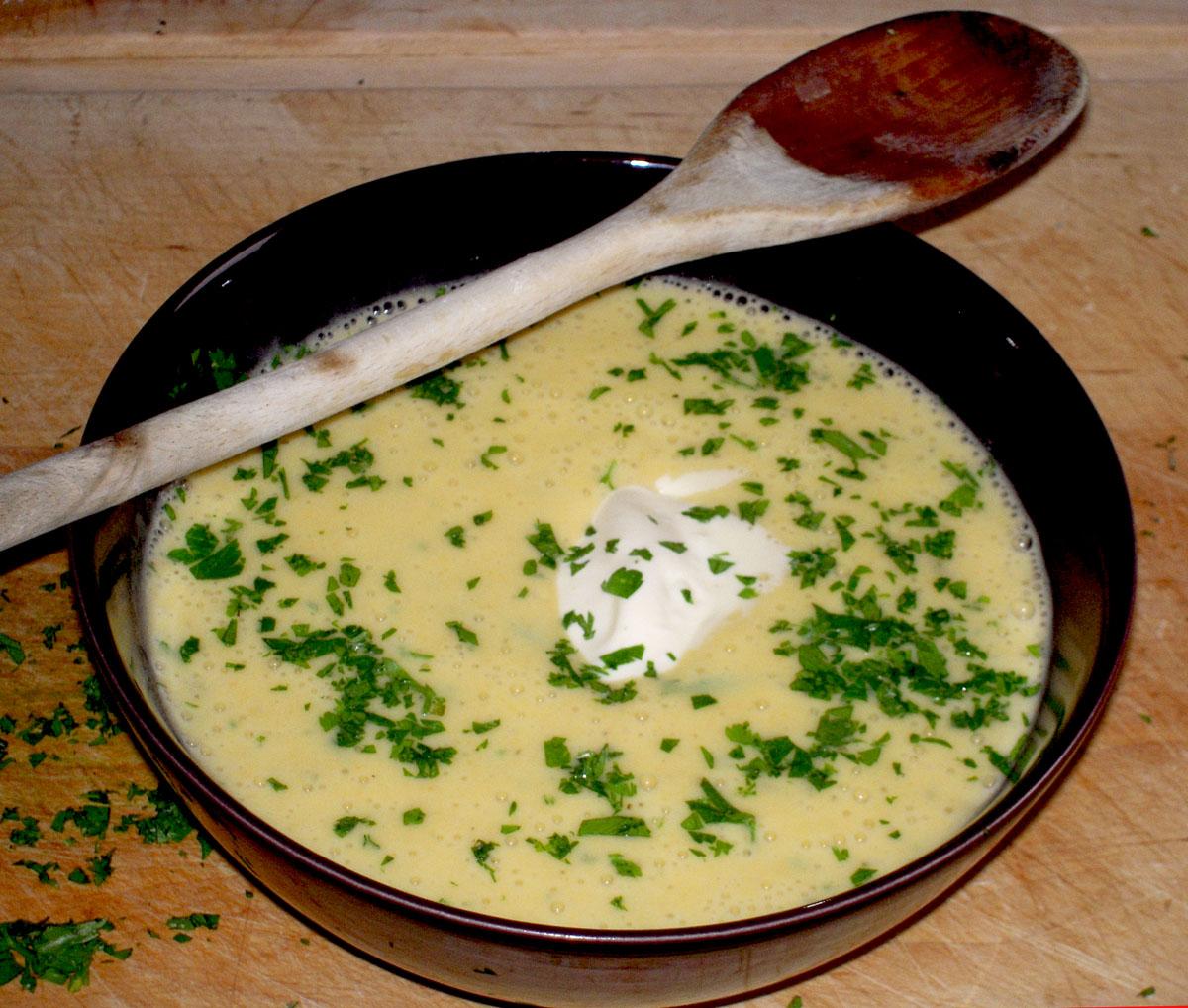 Crema di patate e porri 2