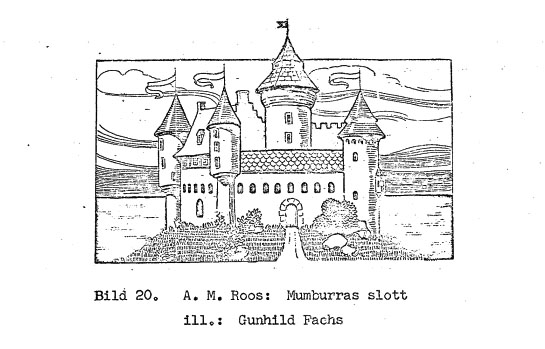 Gunhild Facks - dal libro di A.M. Roos -Mumburras slott