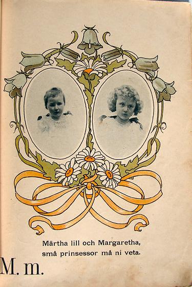 Gunhild Facks - Märtha och Margaretha - Prinsessornas ABC-bok