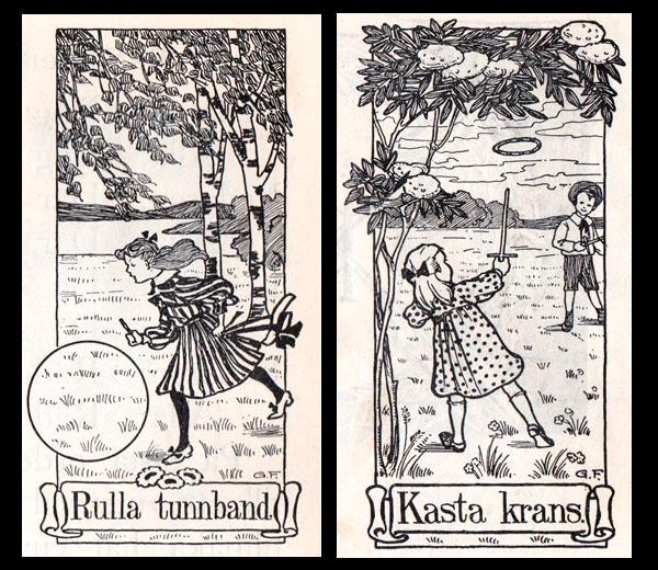 Gunhild Facks - Rulla tunnband + Kasta krans