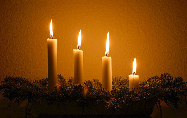 Advent - levande ljus