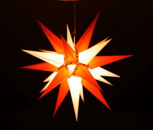 Herrnhutisk julstjärna