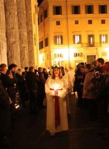 Coro Santa Lucia in piazza