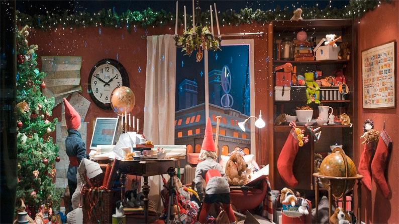 NK's julskyltning 2010