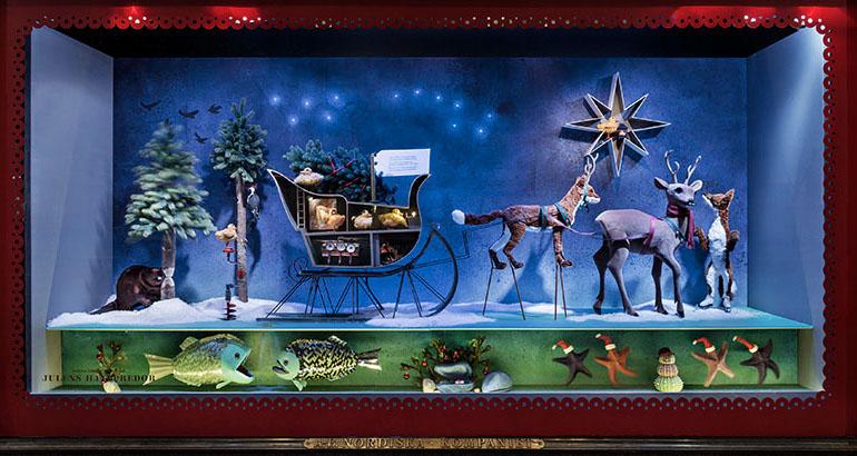 NK's julskyltning 2013