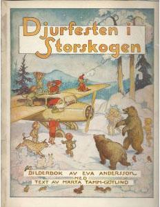 Eva Andersson - Djurfesten i storskogen