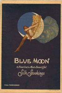 Gustaf Adolf Tenggren - Advertising Blue Moon - 1920