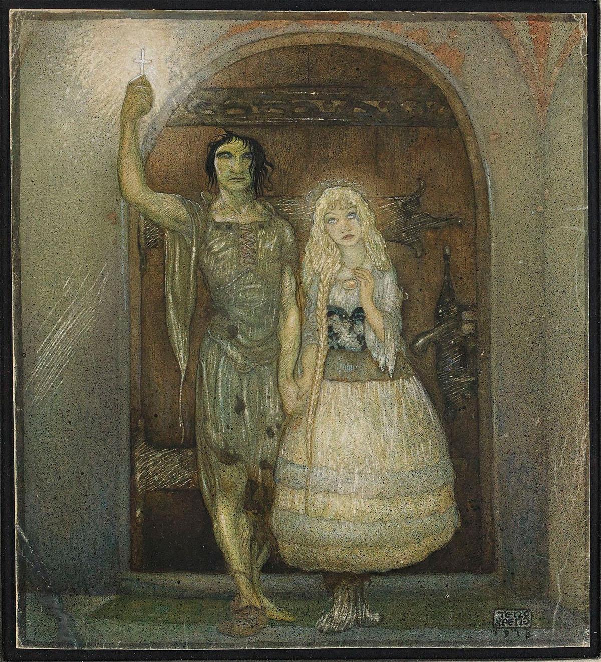 Gustaf Adolf Tenggren - Blanka-Maretas äventyr ur Bland Tomtar och Troll