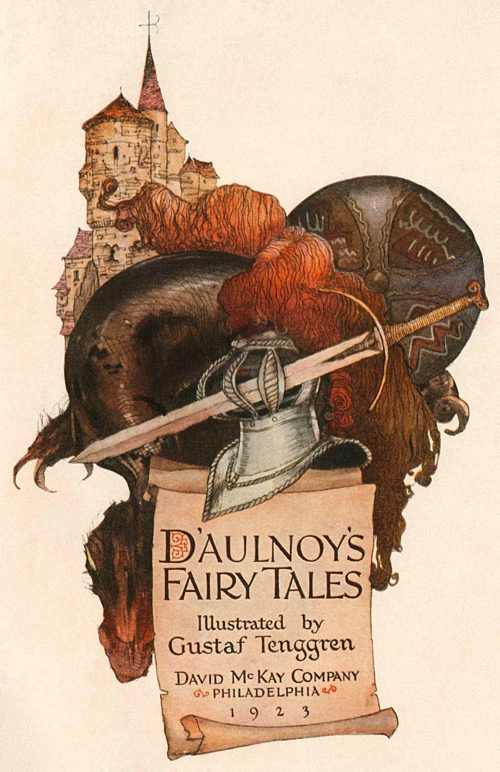 Gustaf Adolf Tenggren - D'Aulnoy's Fairy Tales