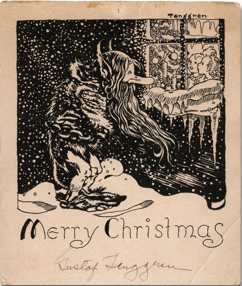 Gustaf Adolf Tenggren - Merry Christmas