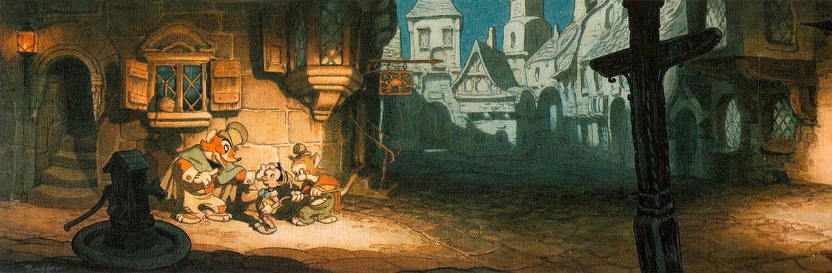 Gustaf Adolf Tenggren - Pinocchio - Rothenburg