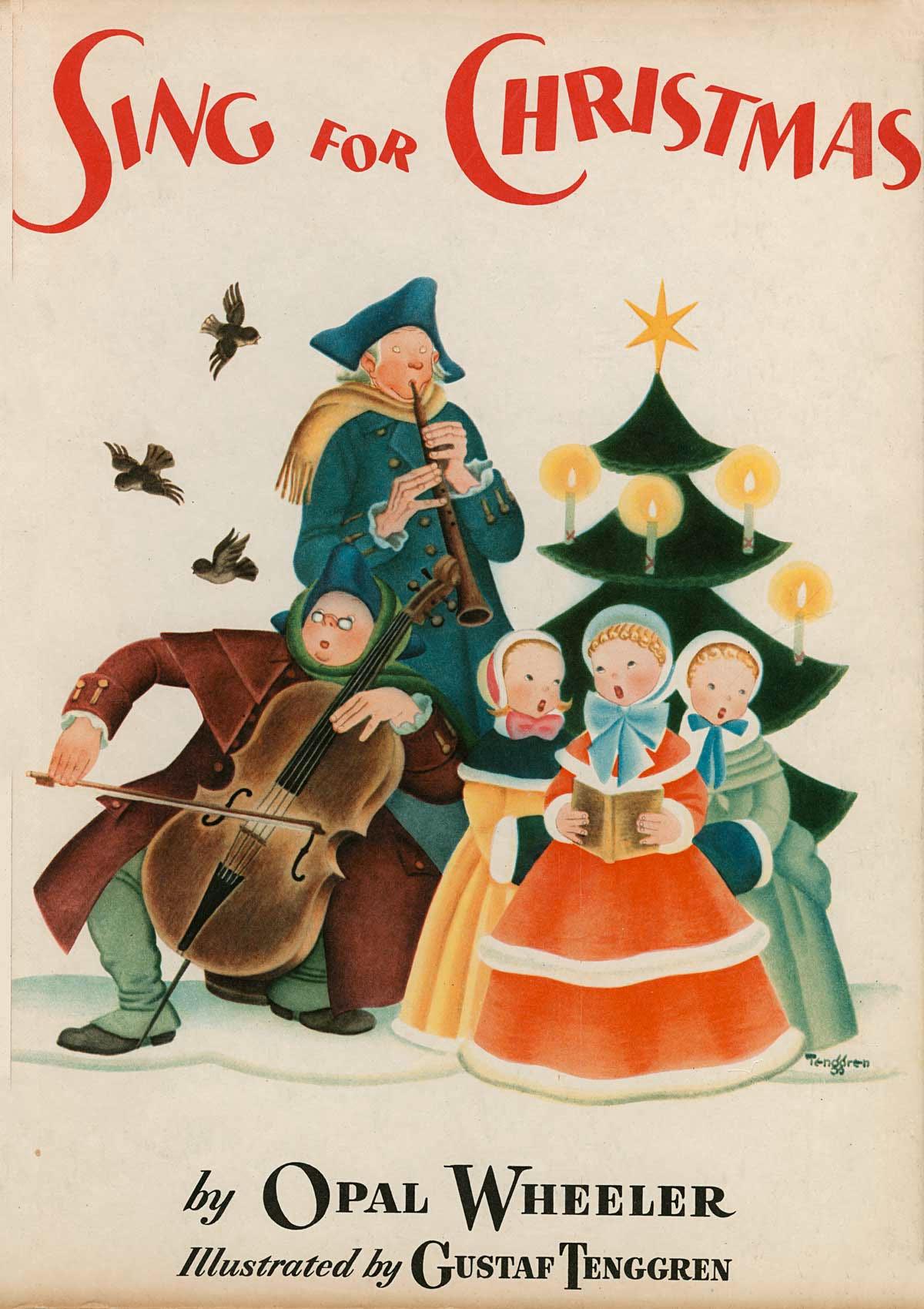 Gustaf Adolf Tenggren - Sing for Christmas
