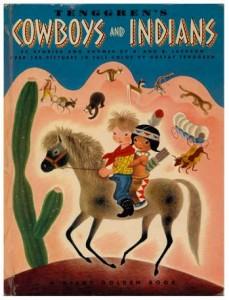 Gustaf Adolf Tenggren - Tenggrens Cowboys and Indian
