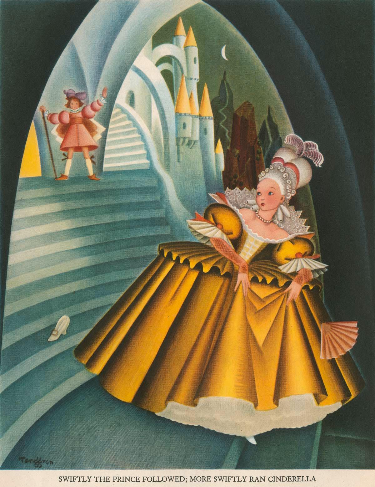 Gustaf Adolf Tenggren - The Tenggren tell it again book - Cinderella