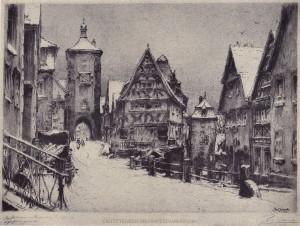 Paul Geissler (1881-1965) - Rothenburg
