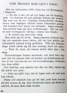 Gustaf Ahlm - När tranan bar ljus i säng - LINK
