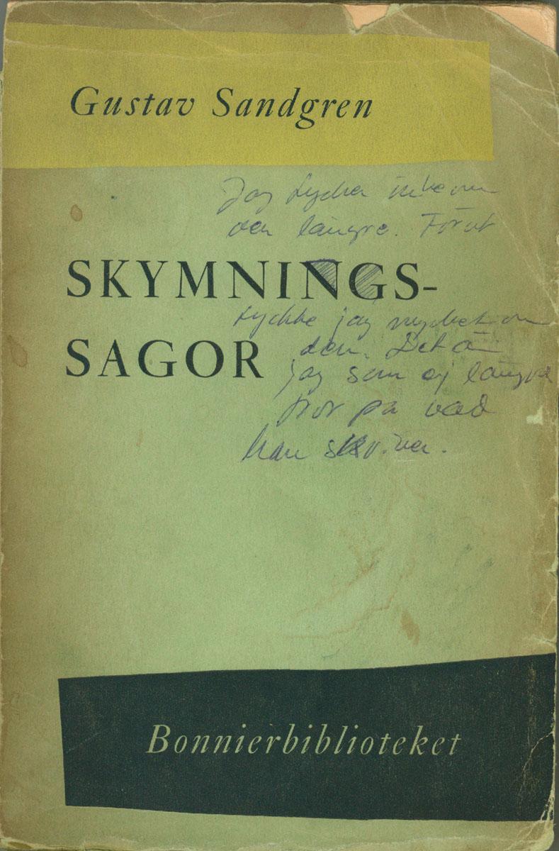 Gustav Sandgren - Skymningssagor