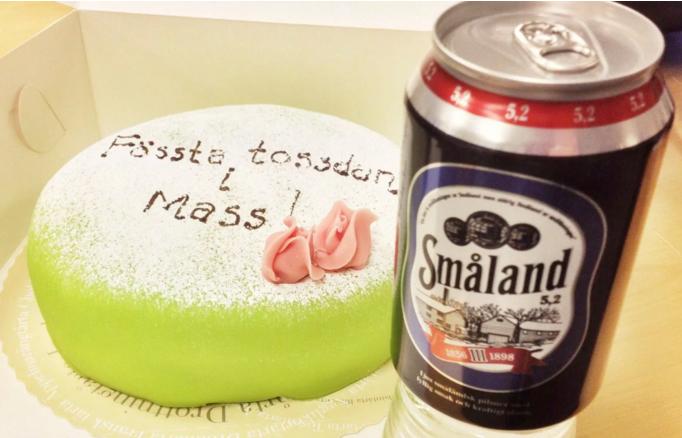 Tårta och öl