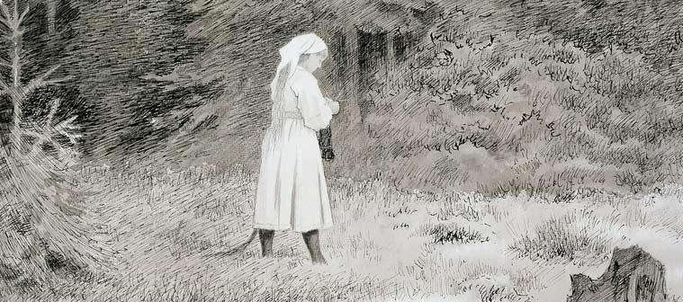 Theodore Kittelsen - Huldra