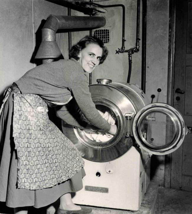 Gammal tvättstuga