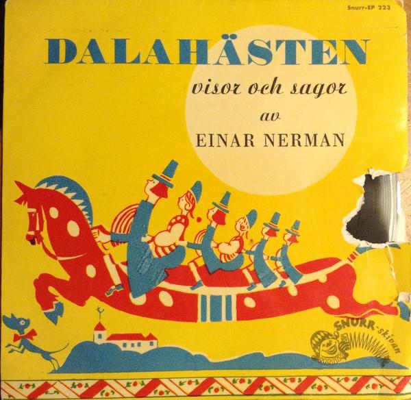 Einar Nerman - Dalahästen - skiva fodral