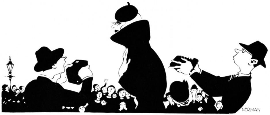 Einar Nerman - Greta Garbo Karikatur