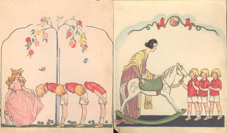 Maj Lindman - Snipp Snapp Snurr and the Magic Horse - 1933